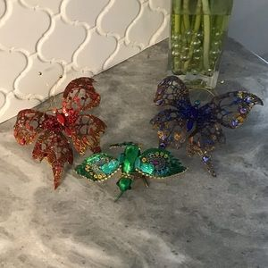 Other - Set of 3 Ornaments/ Gift Clips